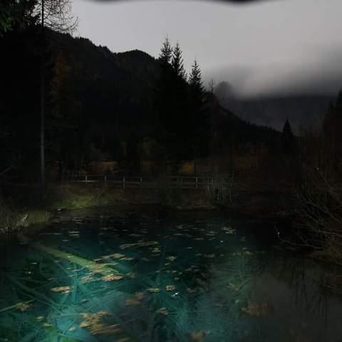 Meeresauge im Bodental bei Nacht