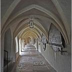 Laufen Stiftskirche, Kreuzgang