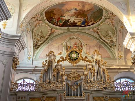 Orgel Wallfahrtskirche Maria Langegg