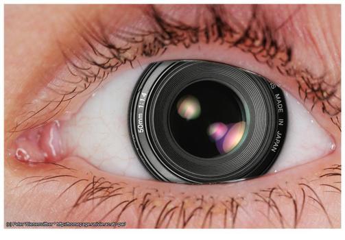 fotografisches Auge