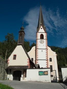 Kirchturm von Sagritzen