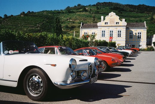 Alfa Romeo Wachau Classic, Leica M2, Summicron 35 mm, Kodak Gold