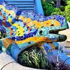 Salamander-Fontäne - Park Güell / Barcelona