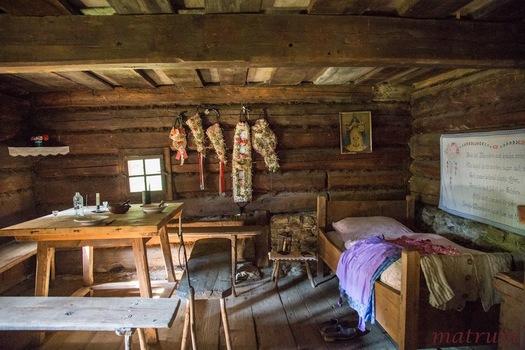 Alte Bauernstube im Freilichtmuseum Stübing