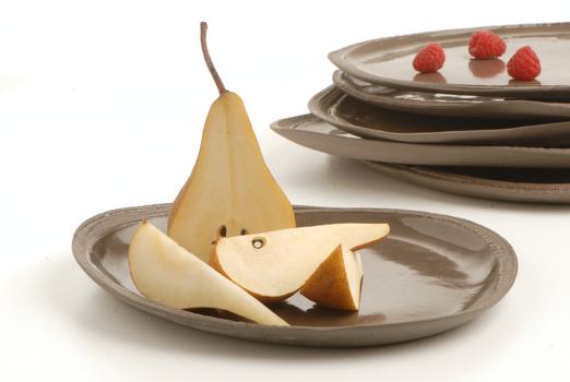 ceramic and fruits