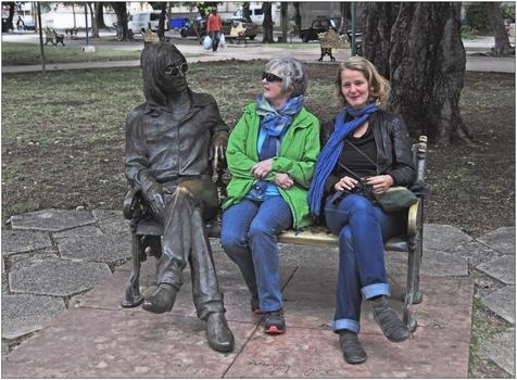 Kuba, La Habana, John Lennon Park