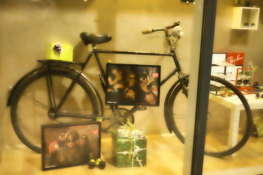 nur ein Fahrrad