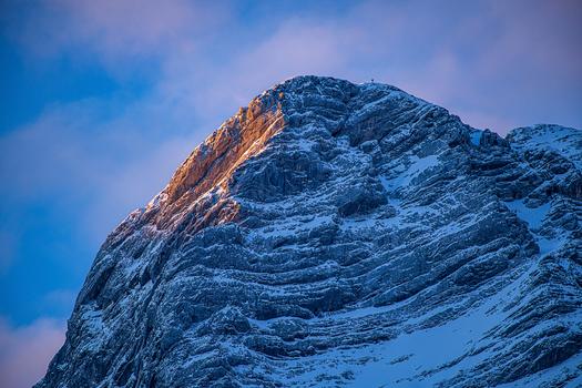 Alpenglühen - Almsee - Oberösterreich