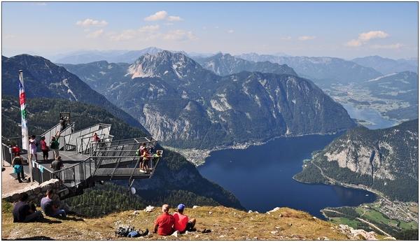 Hallstätter See vom Dachstein