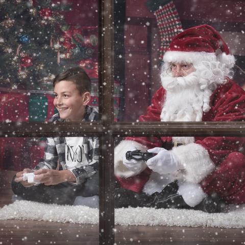 Zocken mit dem Weihnachtsmann