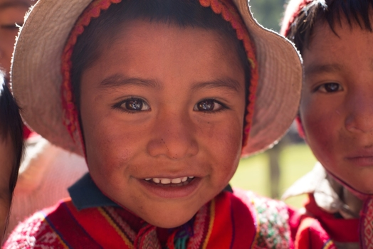 Kind der Anden
