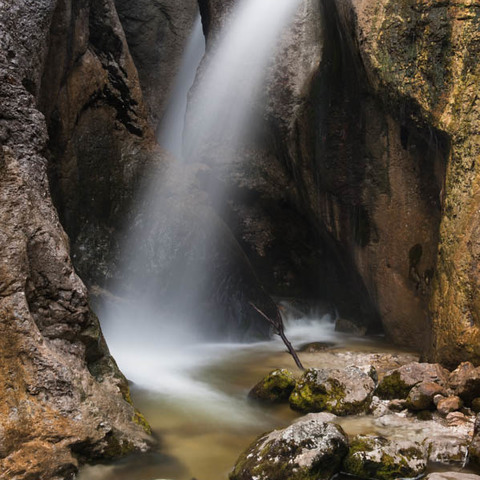 Wasserfall an der Zimitz
