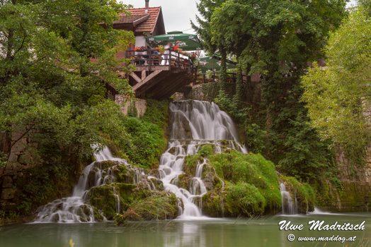 Wasserfälle bei Slunj