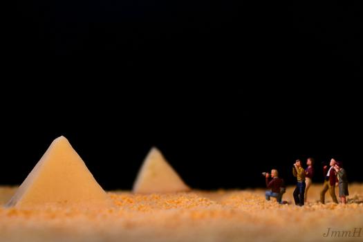 Die Pyramide von Parmesanien