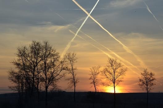 Kratzer am Himmel