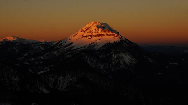 Ötscher im Sonnenaufgang