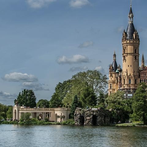 Schlossausblick