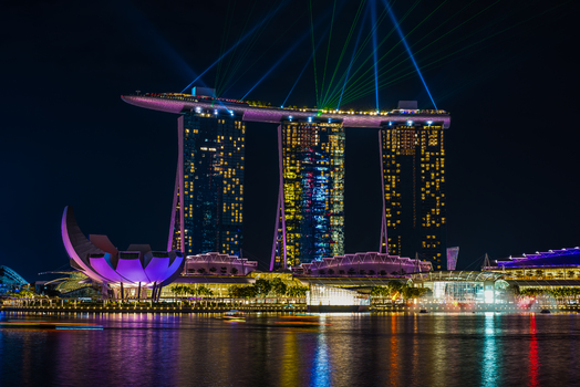MBS Lasershow, Singapore