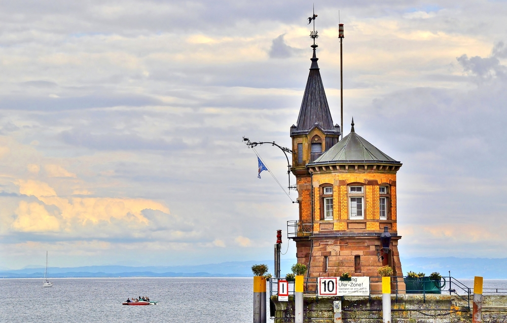Leuchtturm, Südmole / Konstanz Bodensee