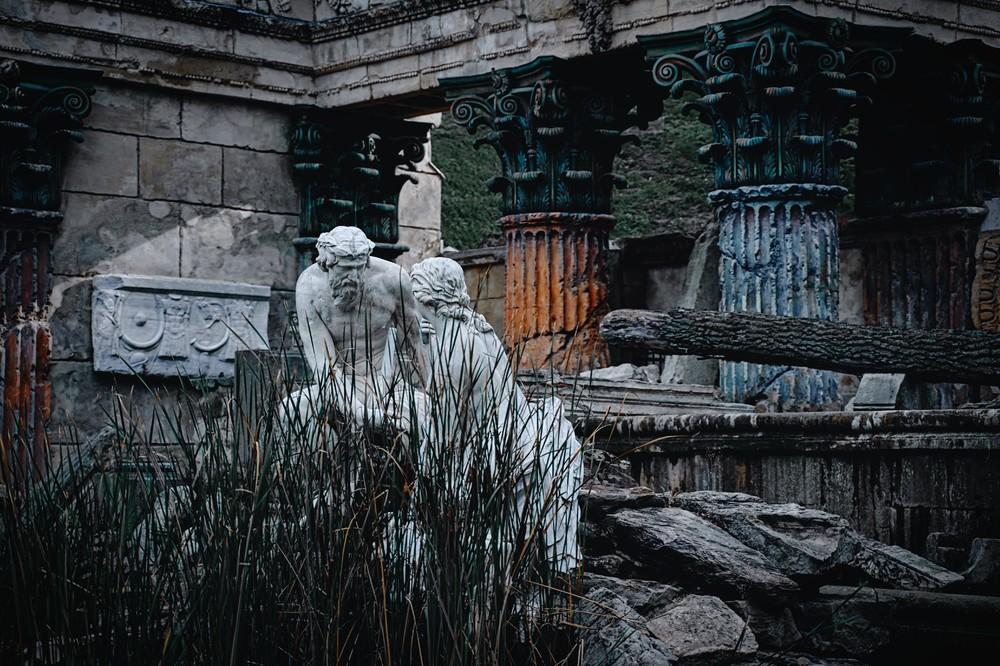 Römische Ruine, Schloss Schönbrunn