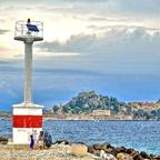Alte venezianische Festung / Korfu Stadt