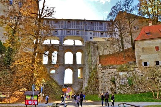Mantelbrücke / Krumau / Tschechien