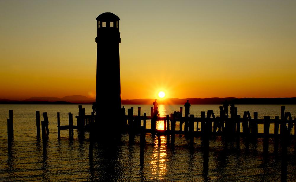 Sunset @ Lake Neusiedl