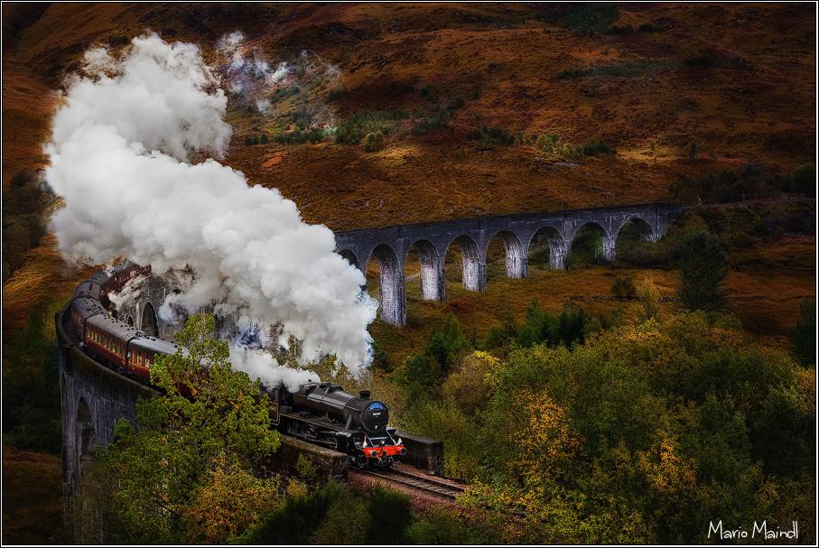 Jacobite Steam Train