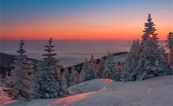 Nebelmeer am Gaberl