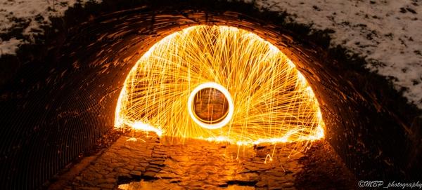 Steelwool firecircle