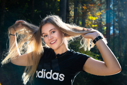 Wildes Haar