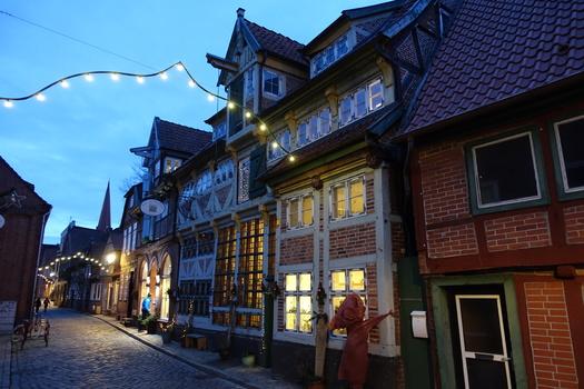 Unterstadt von Lauenburg