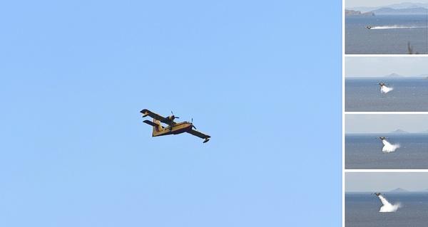 Löschflugzeug ...