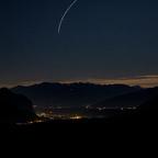 Blick Richtung Zirl und Innsbruck