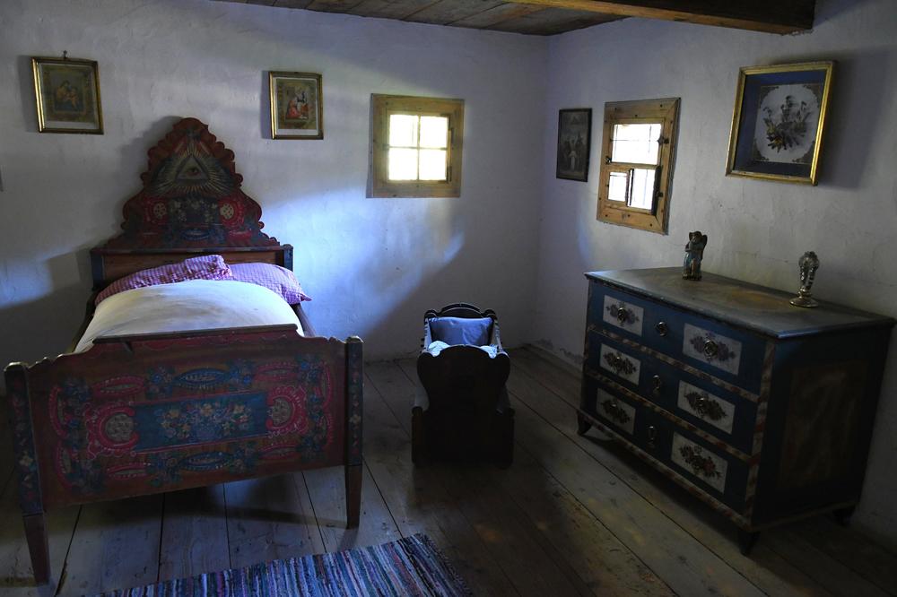 Schlafgemach, Hiertlhaus (Freilichtmuseum Großgmain)
