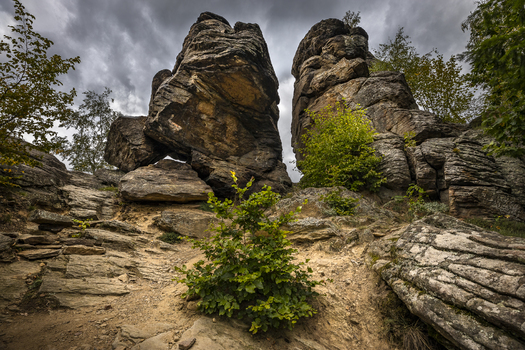 Die Felsen von Aggstein (8 Bilder)