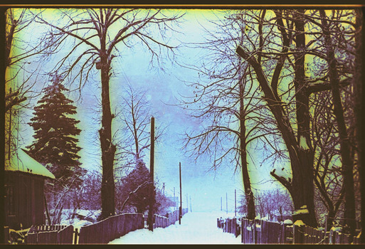 Der Schneeregen