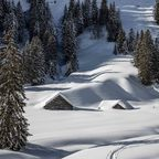 Garnitza Alpe im Winterschlaf