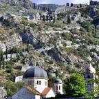 Stadtmauer von Kotor / Montenegro