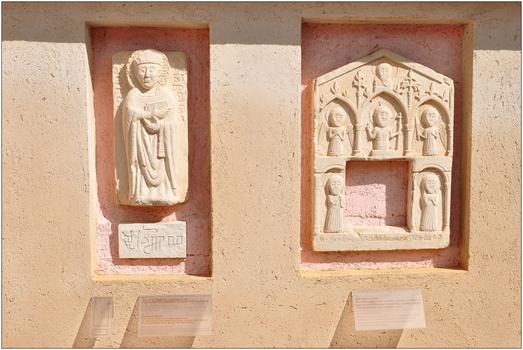 Porat/Malinska (Krk), Franziskanerkloster, Lapidarium