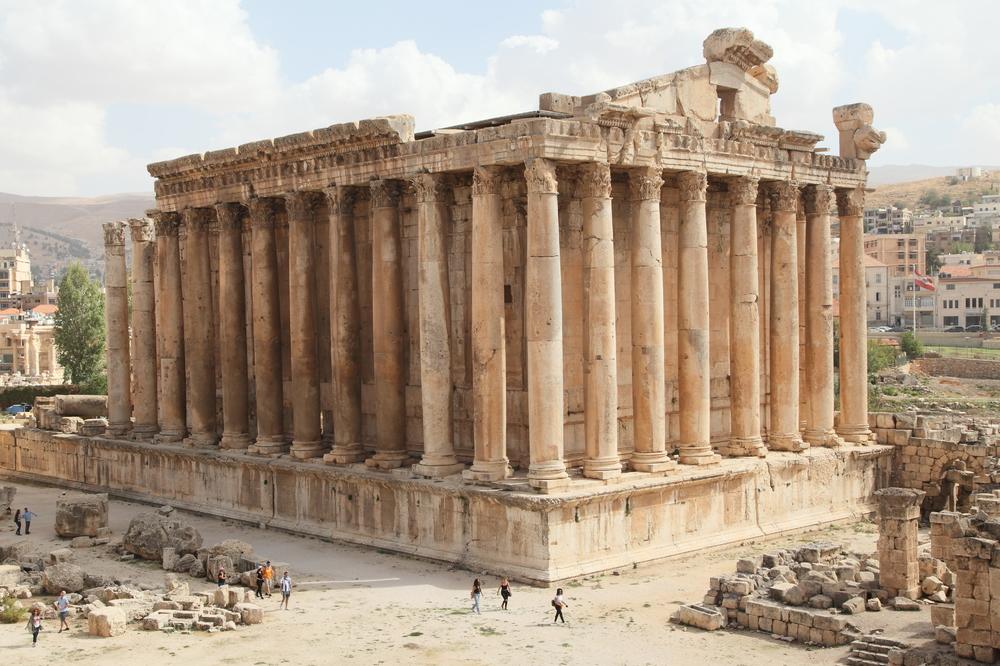 Bacchus Tempel in Baalbek Libanon