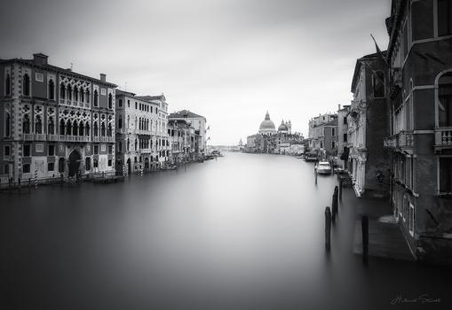 Venedig Schwarz Weiß Impression