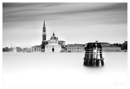 Venedig Schwarz Weiß Impression II