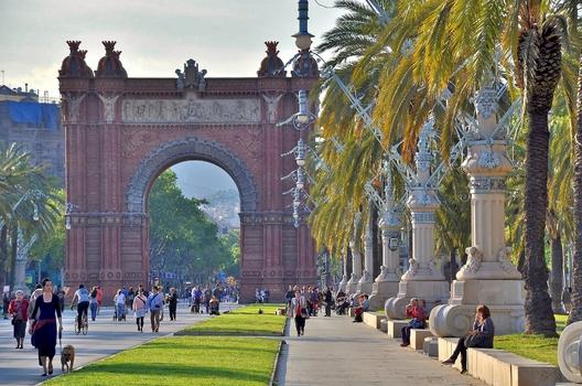 Triumphbogen / Barcelona