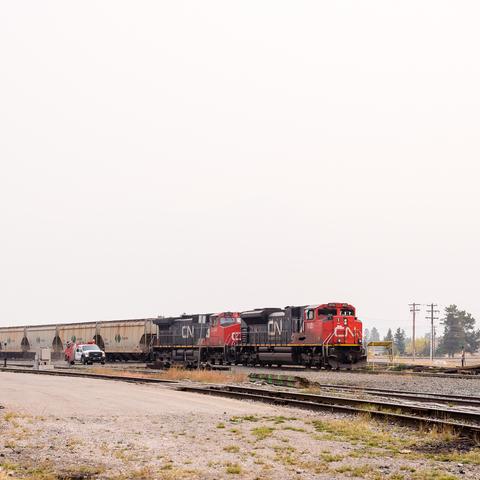 Kanadische Eisenbahn