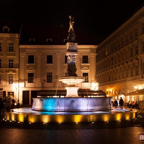 Brunnen in Bratislava