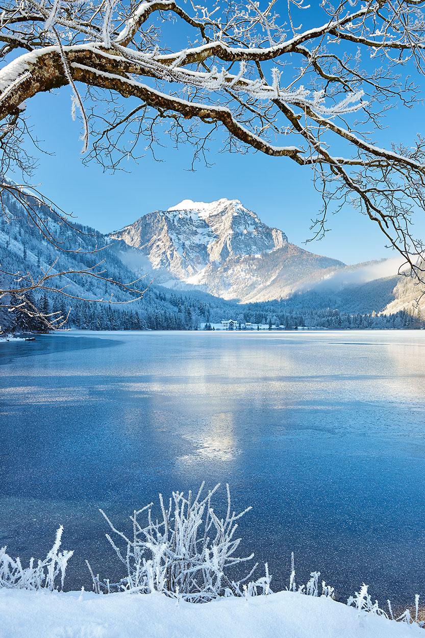 Frostiger Langbathsee