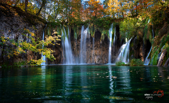 Plitvizer Seen im Oktober