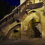 Tor in der Stadtmauer von Rothenburg o.d.T.