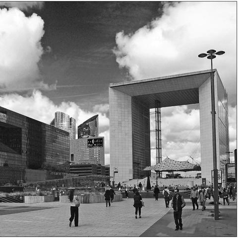 Paris, La Défense, Grand Arche